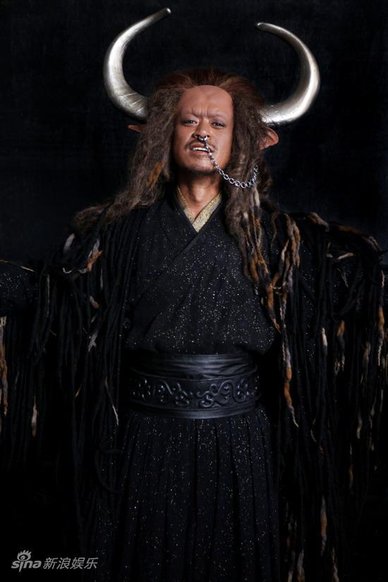 资料图片:《越光宝盒》定妆照-王学兵饰牛魔王