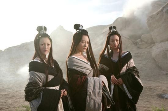 剧情的关键人物――南宫三姐妹