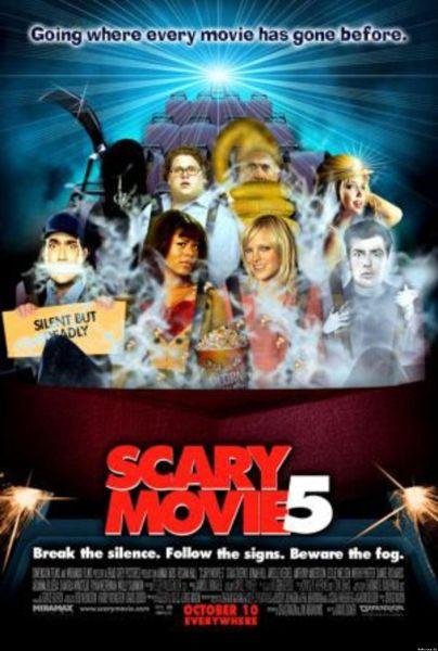 《恐怖电影5》海报