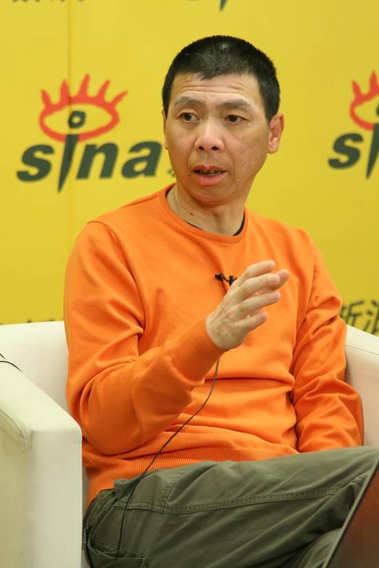 冯小刚聊《集结号》要为张涵予上海庆生(图)