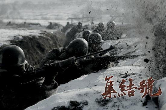 《集结号》首日票房飘红战争大片观众叫好(图)