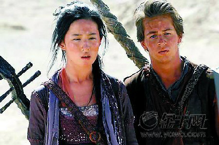 刘亦菲:《功夫之王》吻戏被删我心里很难过