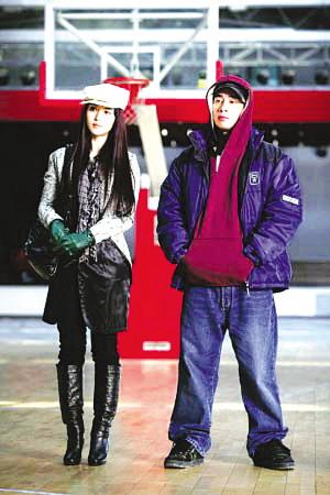 陈小春与范冰冰搭档抱怨《精舞门》里太窝囊