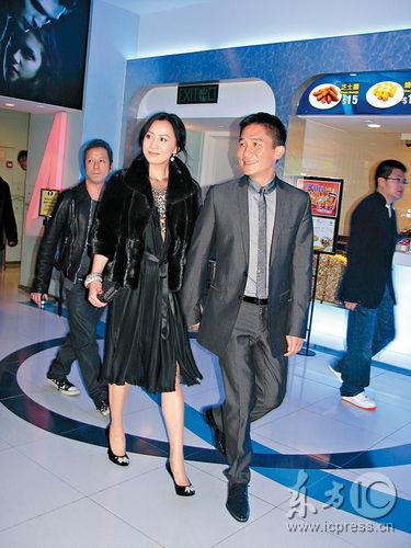 刘嘉玲低调捧场《赤壁》首映林志玲抢镜秀美态