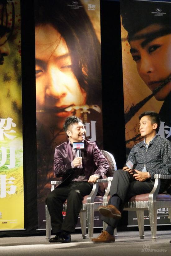 吴彤亮相《东邪西毒》首映会用音符记录电影