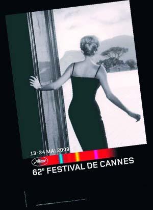 今年戛纳电影节海报主题是向名导安东尼奥尼致敬.