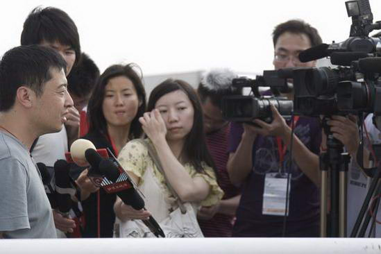 贾樟柯:想采访姚明韩寒转型商业杜琪峰是老师