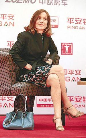 杨紫琼上海艳压红地毯关锦鹏杜可风将合作(图)