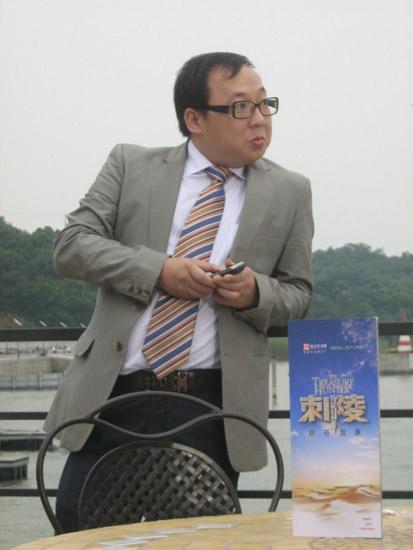 彭波友情助阵《刺陵》利欲熏心调戏林志玲(图)