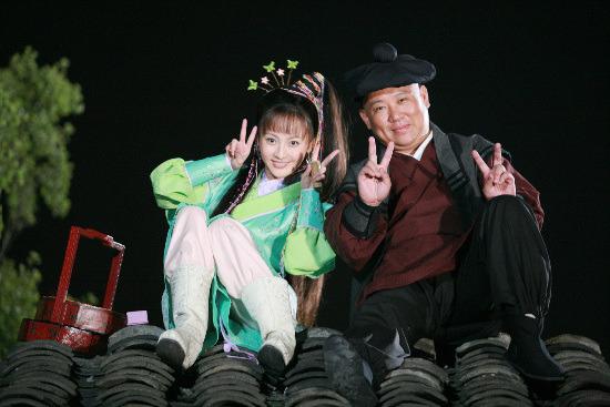 新《三笑》争议不断姚笛颠覆表演向吴君如致敬