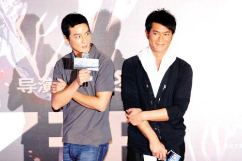 吴彦祖和古天乐(右)频频携手合作
