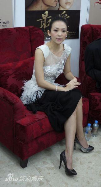 章子怡出席宣传