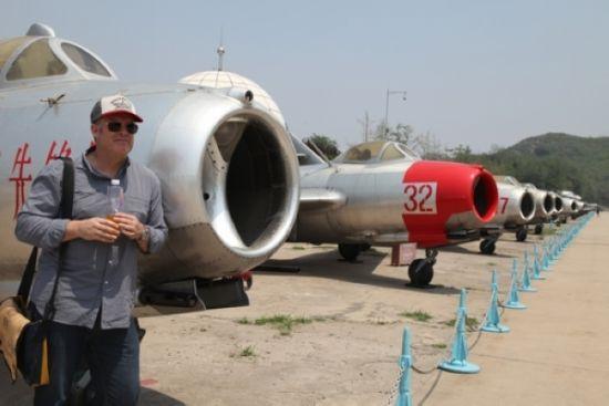罗斯-爱默瑞北京航空博物馆看景
