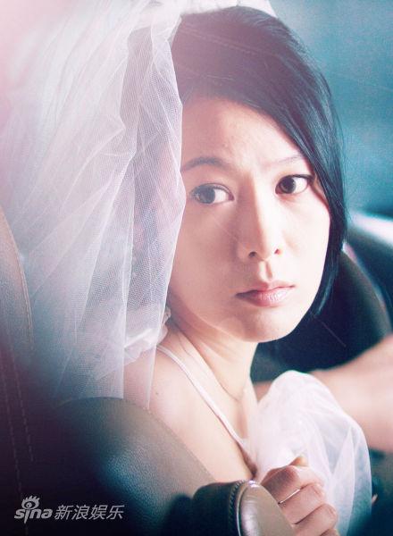 刘若英《极速天使》婚纱剧照
