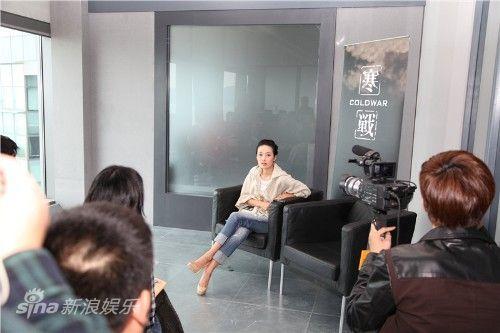 马伊�P接受香港媒体专访