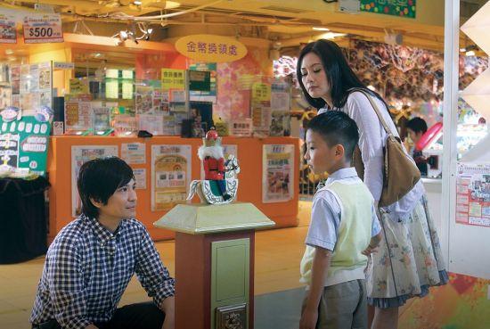 李丽珍、叶世荣在《开心魔法》中演夫妻