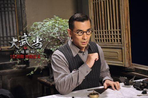 赵文卓首次出演父亲