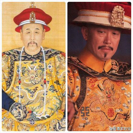 刘伟强与雍正惊人相似