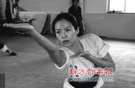 章子怡此次学武吃尽了苦头。