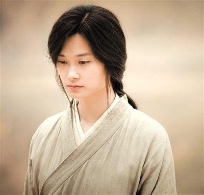 李宇春在片中的长发造型。