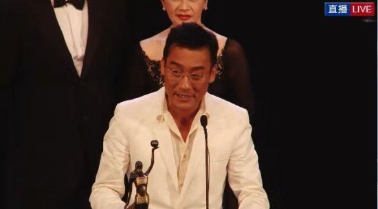 梁家辉凭《寒战》获最佳男主角
