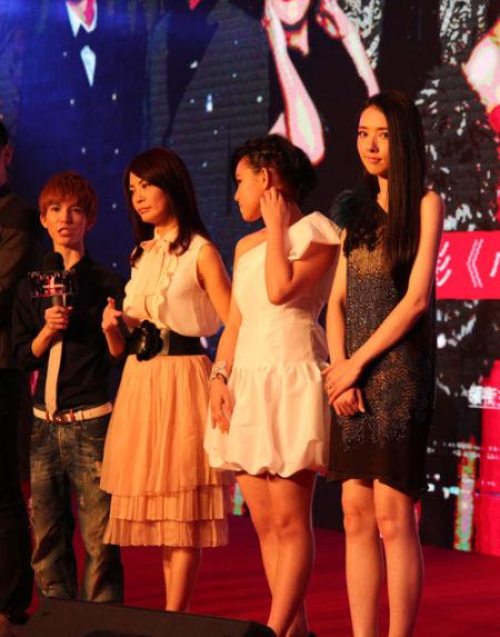 郭碧婷出席《小时代》首映
