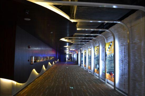 8月15日,位于成都新世纪环球广场的的星美国际影城成都环球店即将开业