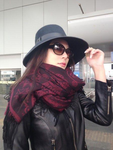 赵雅淇在机场