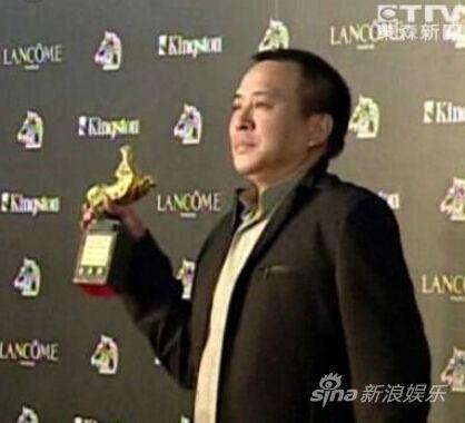 张作骥曾获得2010年金马奖(资料图)