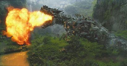 《变形金刚4》武隆场景剧照。