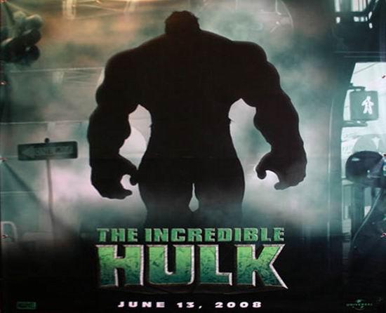 《神奇绿巨人》发布官方海报诺顿要玩深沉(图)