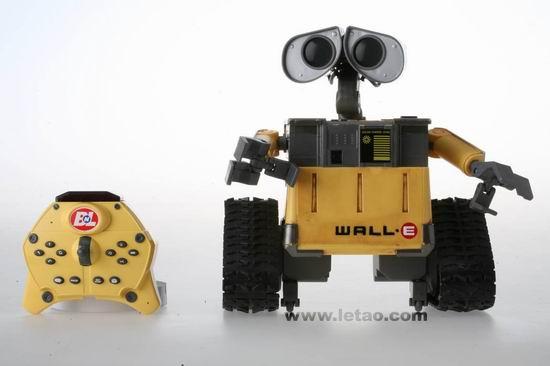 机器人瓦力 玩具之智能版瓦力介绍