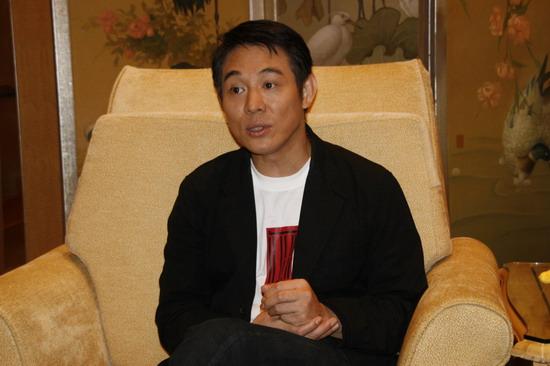 李连杰专访:《木乃伊3》纯属商业片与历史无关