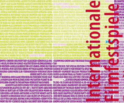 第60届柏林电影节海报发布15000片名拼制(图)