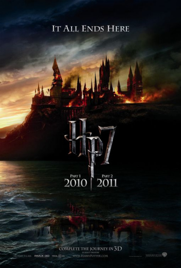 《哈利波特与死亡圣器(上)》11月19日同步上映