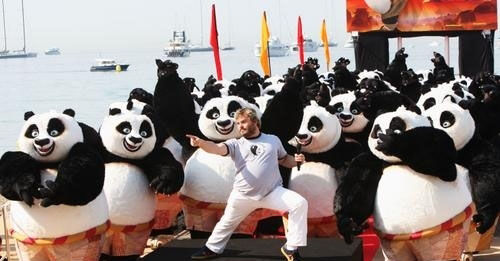 《功夫熊猫》当年在戛纳进行了大量的宣传