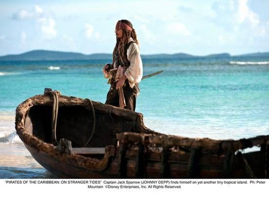 《加勒比海盗4》杰克船长