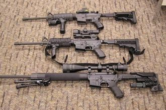 被特警收缴的大多数是突击步枪