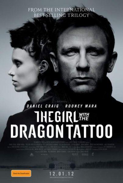 本周新片:《龙纹身的女孩》《丁丁历险记》等