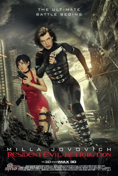 《生化危机5》周末票房登顶,位列系列倒数第二