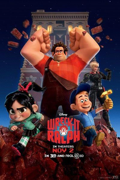 《无敌破坏王》北美登顶,成为进入2012年后的动画第八冠