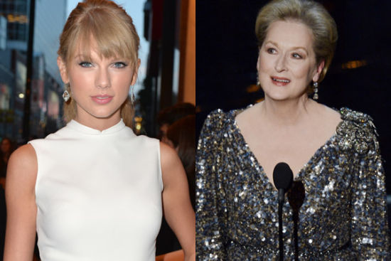"Swift joined the ""award winner"" and Streep learn acting"