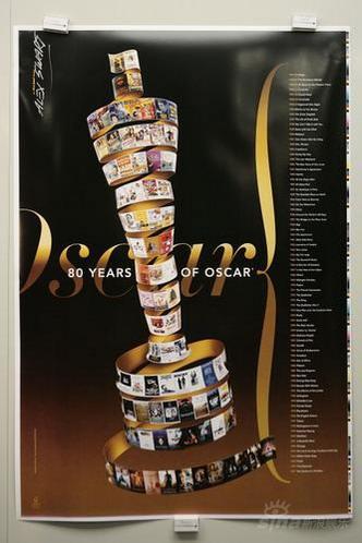 组图:奥斯卡80周年海报面世获奖影片镶嵌主体