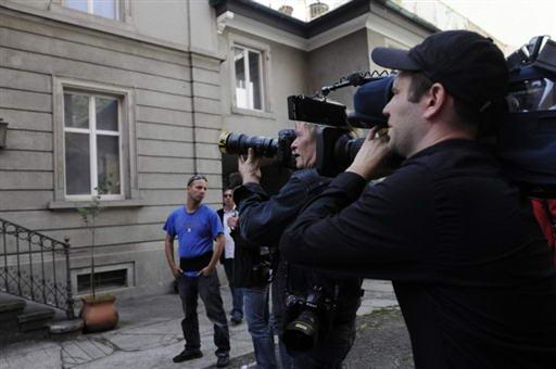 波兰斯基被捕牵动各方关注记者四处围堵(组图)