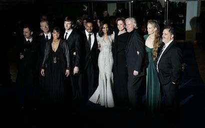 《阿凡达》英国伦敦首映好评如潮(组图)