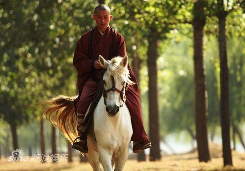 唐僧骑白马简笔画