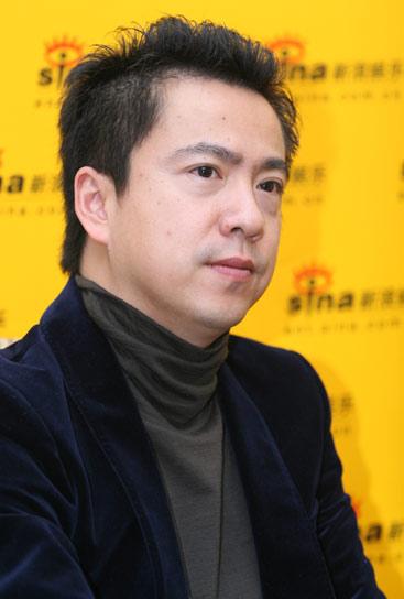图文:王中磊刘璐对话新浪王中磊打造万人庆典
