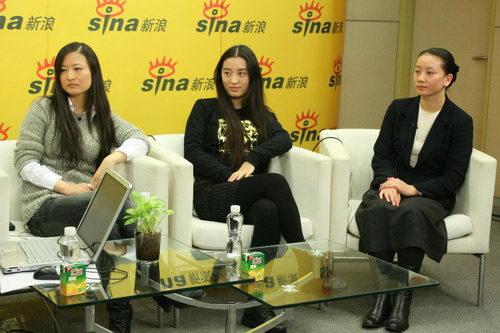 图文:李玉姜丽芬吴明晓聊天--三导演开心聊天