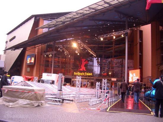 图文:柏林电影节倒计时--主会场的入口
