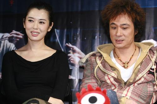 图文:《双食记》主创专访--余男和吴镇宇